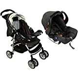 Mirage Plus Travel System -Charcoal