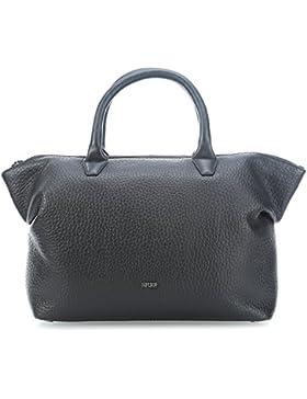 BREE Damen Black, Icon Bag M S18 Handgelenkstasche, Schwarz (Black), 11 x 27 x 32 cm
