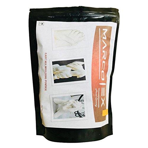 Marcolex 3D Mould Clone Powder Kit Hand Foot Casting Molding powder for Baby lifetime memories - 450gm