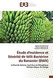 Etude d'Incidence et Severite de Wilt Bacterien du Bananier (BWX): A Irhambi-Katana, Sud-Kivu en Republique democratique du Congo
