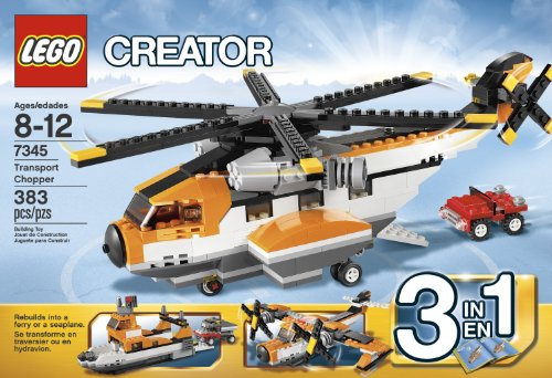 LEGO-CREATOR-TRANSPORT-CHOPPER-7345