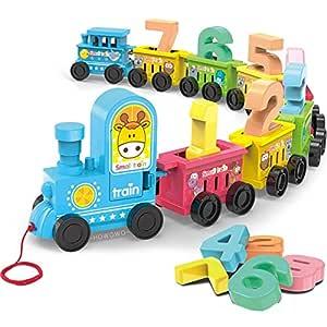Webby Digital Number Luggage Toy Train Set