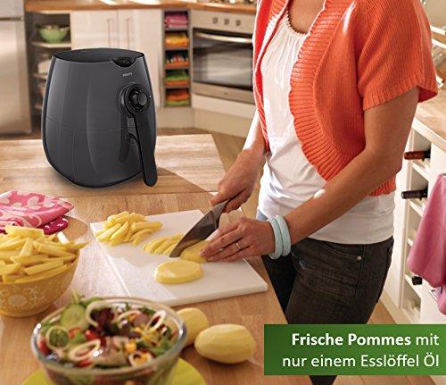 Philips Hd922030 Airfryer Heiluftfritteuse Ohne L Fr 2 3 Personen Kunststoff Pp Kaschmirgrau