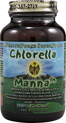 Healthforce Chlorella Manna - Pack of 500 tablets from Healthforce