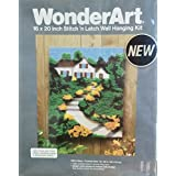 WonderArt Hilltop Stitch 'n Latch Wall Hanging Kit
