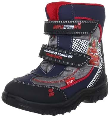 Cars Snow boots CA326287, Jungen Stiefel, Schwarz (DNA/NA/SI/WH 206), EU 24