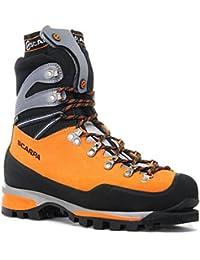Scarpa Alpine para hombre botas de montaña, color naranja, talla 41.5