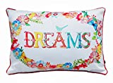 Air Castle- Home Decore- Polyester & Polyester Blend- Dream Cushion Cover best price on Amazon @ Rs. 747