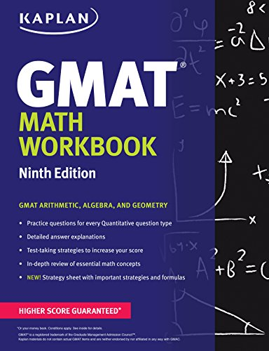 GMAT Math Workbook (Kaplan Test Prep)