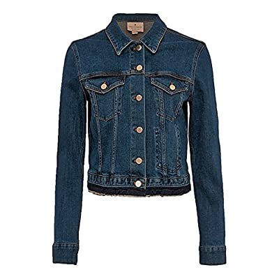 French Connection Womens Denim Neat Trucker Jacket in Tinted Vintage