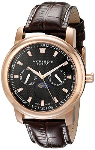Akribos XXIV Uhr mit Schweizer Quarzuhrwerk 43 mm