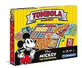 Clementoni - 16556 - Giochi da tavolo - Tombola 90s Mickey Mouse - Disney