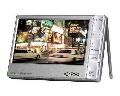 ARCHOS 605 WiFi MP3-/Video-Player 30 GB 10,9 cm (4,3 Zoll) Display Silber Archos 605 Dvr
