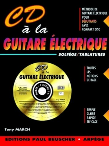 Partition : CD a la guitare electrique T...