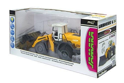 jamara-405007-radlader-liebherr-564-120-24g-schaufel-heben-senken-abkippen-realistischer-motorsound-abschaltbar-programmierbare-funktionen-blinker-autoabschaltfunktion-2-radantrieb-7