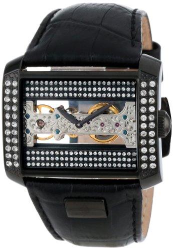 Burgmeister Armbanduhr für Damen mit Analog Anzeige, Handaufzug-Uhr und Lederarmband - Wasserdichte Damenuhr  mit zeitlosem, schickem Design - klassische, elegante Uhr für Frauen - BM152-602 Kap ()