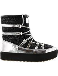 eafa0a8637935 Chiara Ferragni Snow Boot Black Glitter CF2121-A Nuova Collezione A I 2018-
