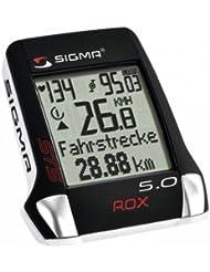 Sigma Rox 5.0 Fahrradcomputer schwarz