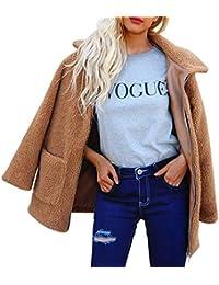 NINGSANJIN Damen Oberteile Jacket Mantel Sweatjacke Pullover Sweatshirt Langarm Winterjacke Funktions Outdoorjacke Artificial Coat Zipper Jacket Winter Parka Outerwear