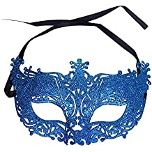 Da.Wa Máscaras de las Mujeres de Boda Mascarada Veneciana de Halloween Batido