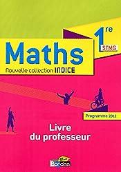 Indice 1re STMG  Livre du professeur