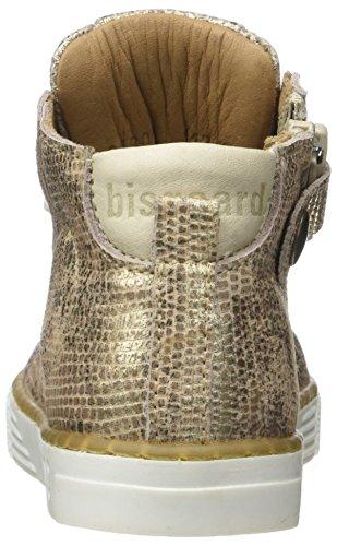 Bisgaard 21802117, Baskets Bébé Fille Or (6010 Gold)