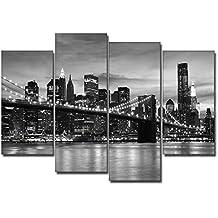 DekoArte - Cuadro moderno en lienzo New York // Nueva York 120x100cm