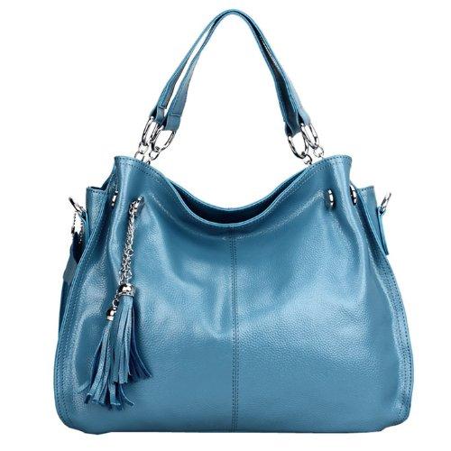 Valin Q0217 donna Borse a spalla,Borse a tracolla38x28x14 cm (B x H x T) Blue