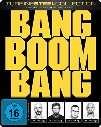 Bang Boom Bang - Ein todsicheres Ding (Limited Edition, Turbine Steel Edition) [Blu-ray] (Max Charaktere Steel)