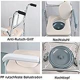 SAILUN Medical Fahrbar Toilettenrollstuhl Toi...Vergleich