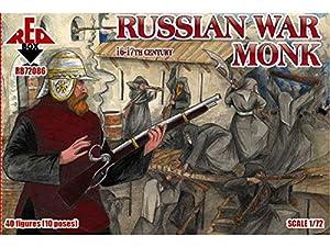Red Box 1/72 Monje Ruso de la Guerra, 16-17 de Siglo # 72086 - Figuras Modelo de plástico
