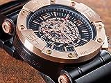 DETOMASO Herren-Armbanduhr Man Machineer Analog Automatik DT-ML102-C - 9