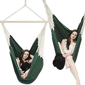 confortable fauteuil hamac XXL HMG-40 Vert