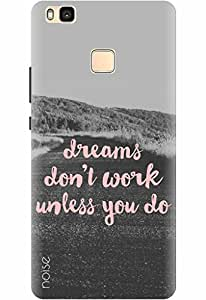 Noise Designer Printed Case / Cover for Huawei P9 lite / Quotes/Messages / Dreams Design