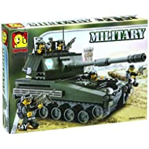 Oxford Army Tank Military Lego Style Building Construction Set OM3301 by Oxford