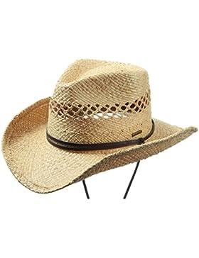 Sombrero Cowboy Rafia Larimore by Stetson sombrero de pajacinta barbilla sombrero de paja