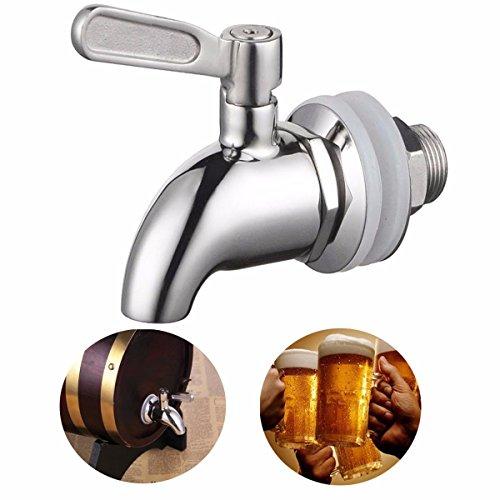 sserhahn für 15-23mm Hause Brew Barrel Fermenter Wein Bier Kühlschrank Fässer ()