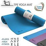 Matymats Yoga tappetino stampato a caldo eco Mats SPESSA ANTISCIVOLO Sport da Palestra GRANDE Tappeto a Lungo