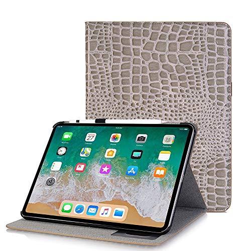 Yimiky Case für iPad Pro 11 Zoll, Business Slim Hülle mit Stifthalter Slim Folio Ständer Smart Shell Wallet Card Slots Leichte Ganzkörper Schutz Shockproof für iPad A1876 A2014 A1895 ()