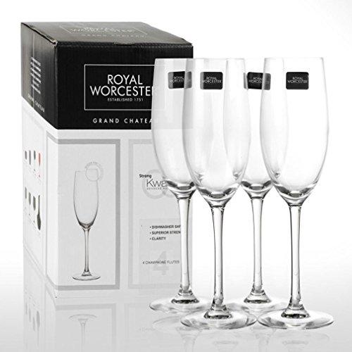 4x Royal Worcester Grand Chateau kwarx Bicchieri
