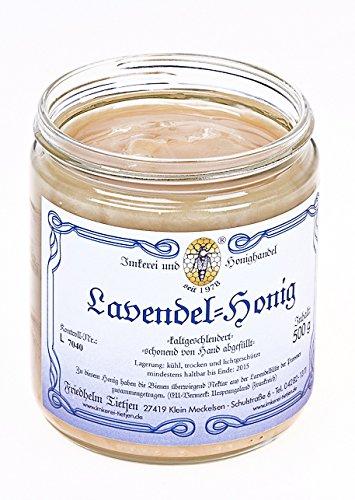 Lavendelhonig 500g – sehr aromatisch, naturbelassen (von Imkerei Nordheide)