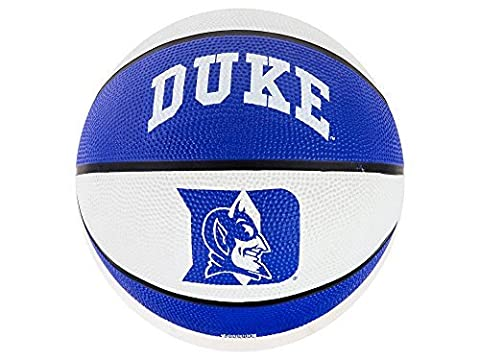 Duke Blue Devils NCAA 29.5 FulL Size Rubber Outdoor Basketball by Rawlings