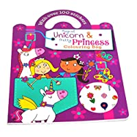 Colouring Book Childrens Kids - Unicorn/Princess Color Creative Activities