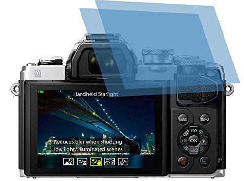 2x ANTIREFLEX matt Schutzfolie für Olympus OM-D E-M10 Mark III Displayschutzfolie Bildschirmschutzfolie Schutzhülle Displayschutz Displayfolie Folie