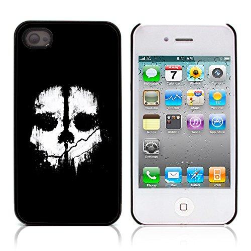 Graphic4You Pirate Flag with Skull Made of Words Design Harte Hülle Case Tasche Schutzhülle für Apple iPhone 4 und 4S Design #4
