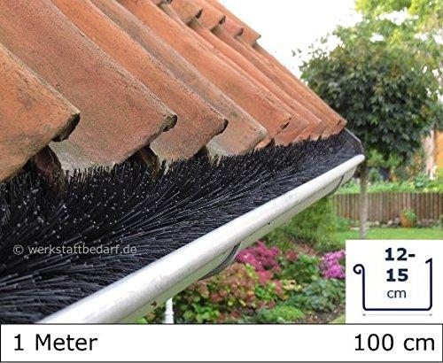 Dachrinnenbürste 1 Meter Ø 8cm, direkt vom Hersteller