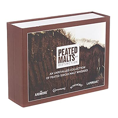 Peated Malts of Distinction Miniature Gift Set (contains 4 x 5cl)