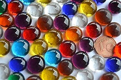 70 g. Deko Mosaiksteine Glasnuggets 10-12mm Buntmix ca. 50 St. von 70 g. Deko Mosaiksteine Glasnuggets 10-12mm Buntmix ca.50St. - Du und dein Garten
