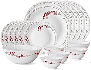 Larah by Borosil Verona Dinner Set