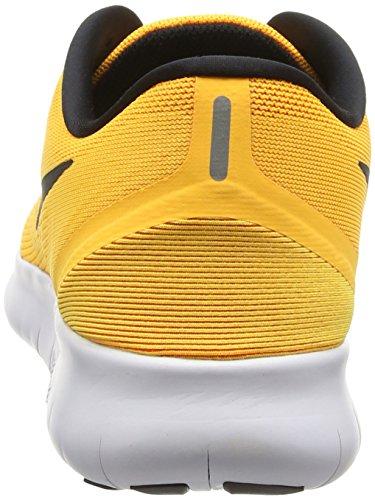 Nike Free Run, Chaussures de Running Entrainement Femme Orange (Laser Orange/Black/Pink Blast)